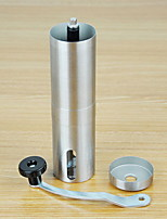 Portable Stainless Steel Hand-cranked Coffee Grinder