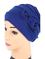 Women's Fashion Handmade Flowers 7 Colors To Choose  Turban Hair Wrap Sun Cap