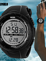Women's Men's SKMEI  LED Digital Mens Military Watch Men Sports Watches 5ATM Swim Climbing Fashion Outdoor Casual Men Wristwatches