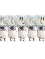 3W Spot LED MR16 15 SMD 2835 230 lm Blanc Chaud Contrôle de la lumière AC 85-265 V 5 pièces