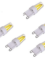 2W Luces LED de Doble Pin 1 COB 150-250 lm Blanco Cálido Blanco Fresco AC 100-240 V 5 piezas