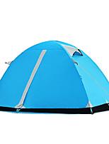 2 personnes Tente Double Tente pliable Une pièce Tente de camping 2000-3000 mm Camping Voyage-