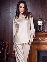 Costumes Vêtement de nuit Femme,Sexy Solide