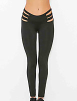 Fashionable Hollow Elasticity Sexy Sports Yoga Pants Legs