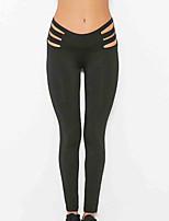 Mujer Pantalones ajustados de running Gimnasio, Correr & Yoga Secado rápido Deportes Medias/Mallas Largas para Yoga Jogging Camping y