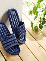 Herrenschuhe pvc Casual Pantoffeln&Flip-Flops Casual Wasser Schuhe flache Ferse Aushöhlung dunkelblau / hellgrau 44-45