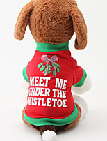 Dog Shirt / T-Shirt Dog Clothes Casual/Daily Christmas Christmas