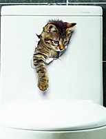 Animal Adesivos de Parede Autocolantes de Aviões para Parede Autocolantes de Parede Decorativos Material Decoração para casa Decalque