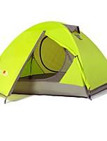 2 personnes Tente Double Tente automatique Une pièce Tente de camping 2000-3000 mm Térylène Fibre de verreEtanche Résistant à la