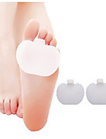A Pair Of Thick Medical Silicone Toe Pads Gel Forefoot Pad Feet Care