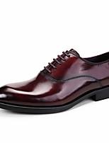Для мужчин Свадебная обувь Формальная обувь Кожа Весна Осень Свадьба Повседневные Для вечеринки / ужина Формальная обувьЧерный Коричневый
