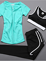 Women's Running T-Shirt Short Sleeves Cycling Fitness, Running & Yoga Help to lose weight Cushioning Quick Dry Casual SportsTracksuit