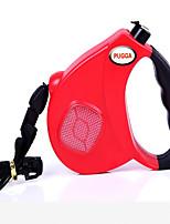 Colliers d'Entraînement pour Chien Laisses Laisse Mains Libres Portable Bruit faible Diatonique double Respirable Sécurité Ajustable