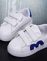 Boys' Boots First Walkers PU Spring Casual First Walkers White Flat