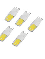 2W Luces LED de Doble Pin 200-240 COB 200-240 lm Blanco Fresco AC 100-240 V 1 pieza