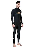 SBART Homme Costumes humides Elasthanne Chinlon Tenue de plongée Manches Longues Combinaisons Hauts/Tops-Sports Nautiques Plongée Surf