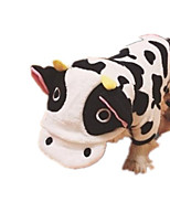 Dog Costume Dog Clothes Casual/Daily Animal White/Black