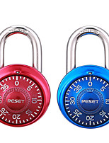 RESET RST-015 Zinc Alloy Rotary Code Lock Fitness Padlock Drawer Password Lock 2 Couple Dail Lock Password Lock