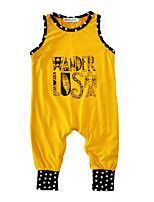 Baby Print One-Pieces Cotton Summer Sleeveless 2017 Newborn Baby Boys Romper Jumpsuits Bodysuits Infant Clothes