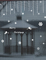 Window Film Window Decals Style Merry Christmas Angel PVC Window Film