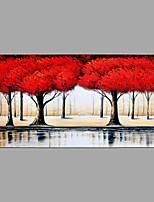Handgemalte Landschaft Horizontal,Abstrakt Ein Panel Leinwand Hang-Ölgemälde For Haus Dekoration