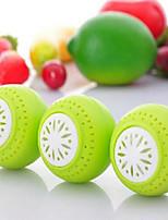 3Pcs Fruits Vegetable Fresh Odor Absorb Refrigerator Fridgeballs