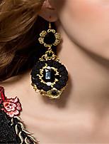 Mujer Pendientes Set Perla artificial Cristal La imitación de diamante Cosecha Hecho a mano Perla Artificial Tela de Encaje Brillante