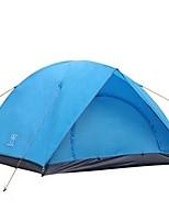 3-4 человека Световой тент Двойная Палатка Складной тент Водонепроницаемость Быстровысыхающий Дожденепроницаемый Защита от пыли Складной