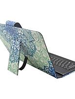 Назначение Чехлы панели со стендом с клавиатурой Флип С узором Чехол Кейс для Мандала Твердый Искусственная кожа для AppleIPad pro 10.5