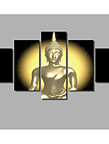 Newest Golden India Buddha Painting Fashion Home Wall Decoration Posters Printed on Canvas Landscape Pictures Livingroom Artworks Background Deco