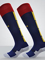 Простой Спортивные носки Муж. Носки Все сезоны Противозаносный Износоустойчивый Тактель Футбол