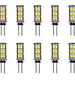 2W Luci LED Bi-pin 26 SMD 2835 145 lm Bianco caldo Bianco DC 12 V 10 pezzi