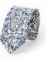 Homme Cravate Coton Mélange de Coton Cravate,Imprimé Toutes les Saisons