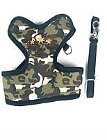 Harnais Laisses Portable Pliable Sécurité Camouflage