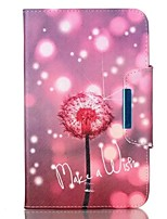For Apple iPad 4 3 2 Case Cover Dandelion Pattern PU Skin Material Apple Flat Protective Shell