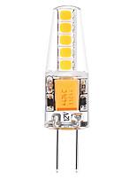 2W LED à Double Broches T 10 SMD 2835 250 lm Blanc Chaud Blanc V 1 pièce