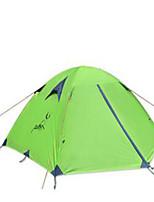 3 a 4 Personas Tienda Doble Carpa para camping Tienda de Campaña Plegable Resistente a la lluvia para Camping y senderismo CM Otros
