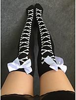 Women's Thin Stockings Bow Stockings
