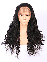 Pre Plucked Brazilian Water Wave 360 Lace Frontal Wigs 180% Density 8''-22'' 360 Lace Wigs with Baby Hair 100% Virgin Human Hair Natural Hairline