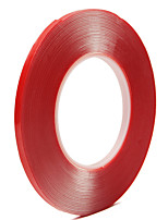 10mm x 10m Brand Strong Super Double-sided Clear Transparent Acrylic Foam Adhesive Tape Double Sided Acrylic Foam Tape