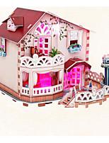 Puzzles Puzzles 3D Blocs de Construction Jouets DIY  Maison Papier