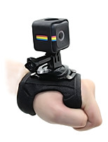 TELESIN Glove Style Hand Wrist Palm Strap with Frame Tripod Mount Adapter Screw for Polaroid Cube and Cube Camera Accessories