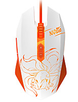 DAREU EM915 7Keys 4000DPI USB Wired Games Mouse With 180CM Cable