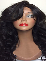 Natural Looking Black Body Wave Human Hair Wigs Glueless Full Lace Virgin Human Hair Wigs With Baby Hair For Black Women