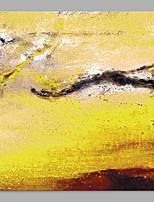 Ручная роспись Абстракция Пляжный стиль 1 панель Холст Hang-роспись маслом For Украшение дома
