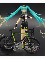 Figuras de Ação Anime Inspirado por Vocaloid Hatsune Miku PVC 14 CM modelo Brinquedos Boneca de Brinquedo