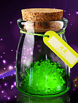 3PC  DIY Planting Luminous Wish Bottle Wishing Eco bottle Lovers Friends Students Gifts