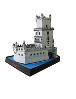 Jigsaw Puzzles DIY KIT 3D Puzzles Building Blocks DIY Toys Tower Famous buildings Architecture