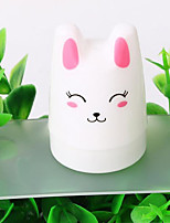 New Transparent Silicone Seal Super Cute Girls Cute Cat White Handles Opal Seal Head Printing Tools