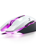 DAREU 7Keys 4000DPI Mirror USB Wired Game Mouse With 180CM Cable